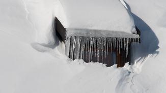 Niederschläge und Glätte im Norden: Im Süden bleibt es klirrend kalt