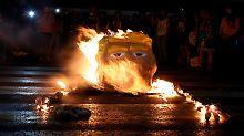 Berlin, Mexiko-Stadt, Hongkong: Weltweit protestieren Trump-Gegner