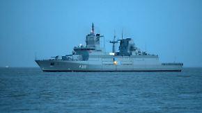 Einsatz ab 2018: Bundeswehr testet neue Fregatten