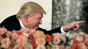 """""""Habe großen Respekt vor ihnen"""": Trump bedankt sich bei den Clintons"""