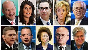 """Trump-Kabinett steht: """"Ich will Leute, die ein Vermögen gemacht haben"""""""