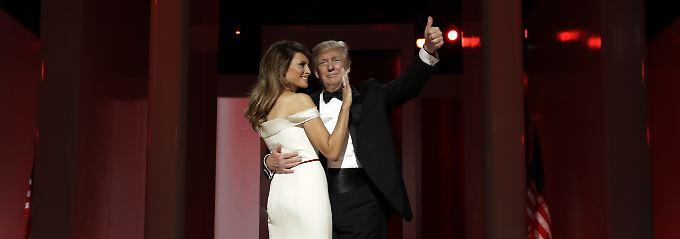 """Mit Sinatras """"My Way"""": Der """"First Dance"""" als Präsidentenpaar"""