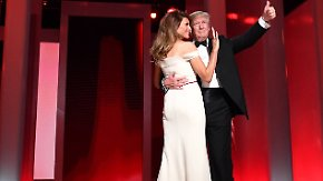 "Liberty Ball in Washington: ""First Couple"" präsentiert ersten Tanz"