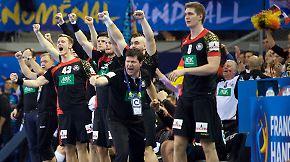 """Handball-Gala gegen Kroatien: """"Es war eine super Teamleistung"""""""