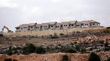 Hunderte Wohnungen in Ost-Jerusalem: Israel weitet Siedlungsbau aus