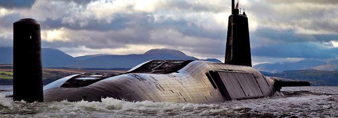 Britisches Atomwaffenprogramm: London soll Raketen-Panne vertuscht haben