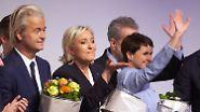 Rechtspopulisten-Kongress in Koblenz: Tausende demonstrieren gegen Le Pen, Wilders und Petry