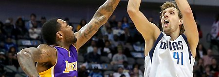 Dallas schreibt NBA-Geschichte: Nowitzkis Mavericks zerlegen LA Lakers