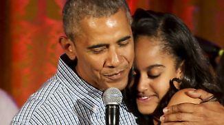 Promi-News des Tages: Malia Obama zieht es nach Hollywood