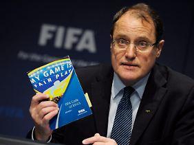 Claudio Sulser, Chef der Fifa-Ethikkommission.