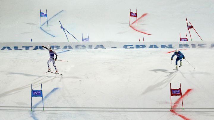 Beim FIS-Weltcup in Alta Badia im Dezember 2016.