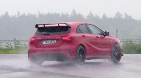 """""""Hätte ich dem Auto nicht zugetraut"""": Drift-König lässt den AMG A45 4Matic tanzen"""