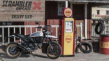 Lässige Neuheit von Ducati: Scrambler Desert Sled zieht alle Register