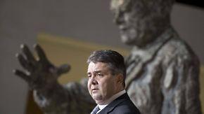 Bewegte politische Karriere: Sigmar Gabriel im Porträt