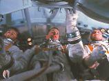 """Die Crew der """"Apollo 1"""": Roger Chaffee (l.), Ed White (m.) und Gus Grissom."""