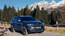 """Als """"Trailhawk""""-Variante lockt der Grand Cherokee mit Inklusiv-Ausstattung."""