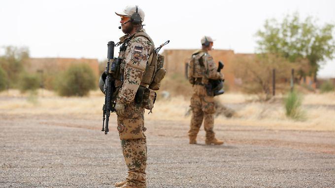 Es ist ein Kriegseinsatz: Bundeswehr weitet Kontingent in Mali aus.