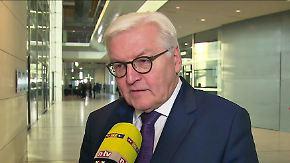 Abschied vom Bundestag: Steinmeier schaut im n-tv Interview zurück