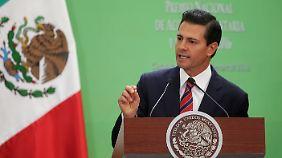 Nach neuer US-Provokation im Mauerstreit: Mexikos Präsident sagt Treffen mit Trump ab