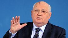 Appell an Trump und Putin: Gorbatschow: Welt bereitet sich auf Krieg vor