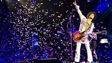 Prince bei einem Konzert im Jahr 2014.