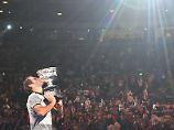 Furioser Sieg im reifen Tennis-Alter: Federer will feiern wie ein Rockstar