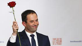 Benoît Hamon sieht sich als französischer Pablo Iglesias.