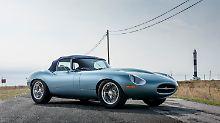 Nach der Kur bei Eagle bleibt wenigstens der Traumkörper des Jaguar E-Type erhalten.
