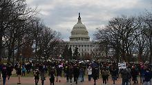 """""""Niemand steht über dem Gesetz"""": Washington klagt gegen Einreiseverbot"""