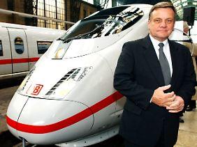 Hartmut Mehdorn: Der Bahnchef mit der bislang längsten Amtszeit.