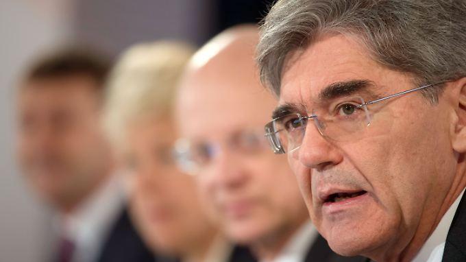 Der jüngste Rückgang bei den Aufträgen beunruhigt Siemens-Chef Kaeser nicht.