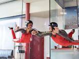 """Erlebnisse wirken wie Kurztrip: """"Arena"""" für Bodyflying bis Indoorsurfen"""