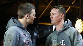 Tom Brady gegen Matt Ryan: Super Bowl wird zum Duell der Quarterbacks