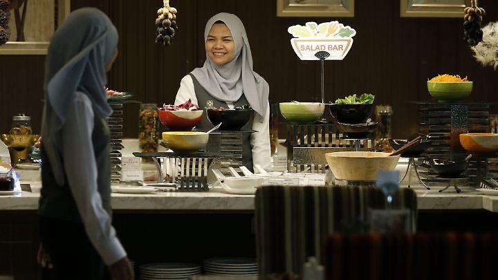 Für Halal-Reisen hat sich ein Markt entwickelt.