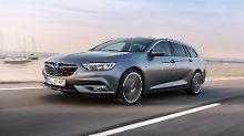 Deutlich sportlicher tritt der neue Opel Insignia Sports Tourer in der Linienführung auf.