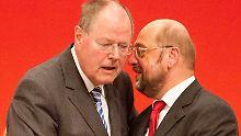 Kanzlerkandidaten der SPD: Steinbrück muss Schulz eine Lehre sein