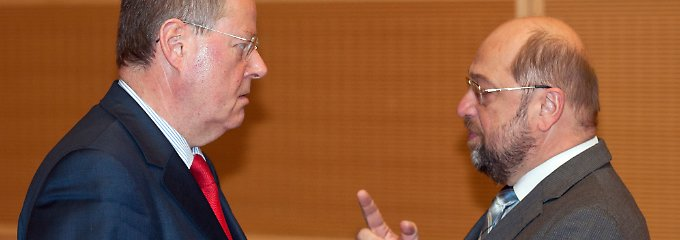 """Steinbrück stänkert gegen Schulz: SPD-Spitze ist """"not amused"""""""