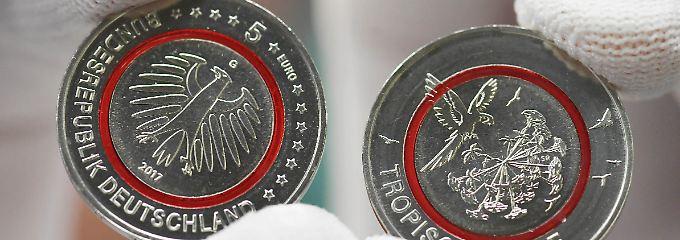 Schaut Die Neue 5 Euro Münze Thuetimescityparkhill