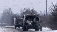 Bei Gefechten sterben 30 Menschen: Neue Eskalation in Ostukraine