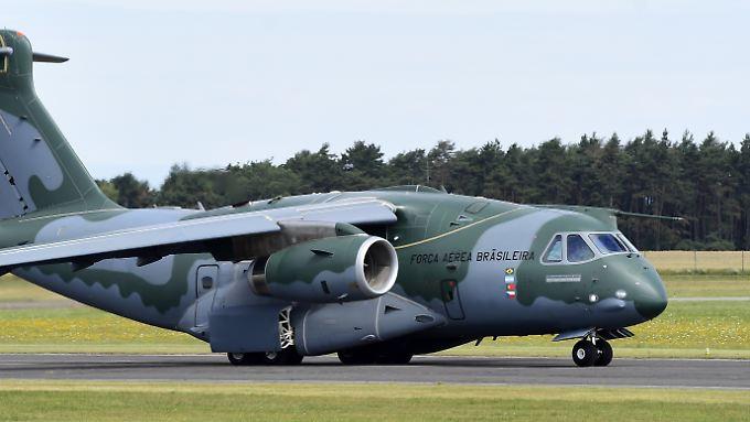 Embraer-Chef Paulo Silva kann sich gut vorstellen, dass die Bundeswehr Interesse an der KC-390 hat.