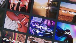 n-tv Ratgeber: Musikstreaming-Dienst im Test