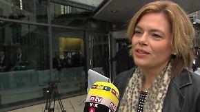 """Julia Klöckner im n-tv Interview: """"Gut, dass die SPD aus der tiefen Depression rauskommt"""""""