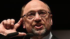 Mit Martin Schulz schöpft die SPD wieder Hoffnung auf einen Wahlsieg.