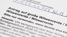 72.000 Euro Rückzahlung: Wenn die Witwenrente verloren ist