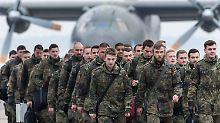 Deutschland führt mit 450 Bundeswehrsoldaten den neuen Truppenverband in Litauen an.