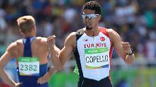 Der gebürtige Kubaner Yasemani Copello startet seit 2014 für die Türkei. In Rio gewann er Bronze über 400 Meter Hürden.