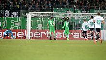 Oscar Wendt erzielte das erste Tor für die Borussia.