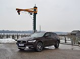 Der  Volvo V90 Cross Country baut höher als seine Brüder. Das Vor- aber auch Nachteile.