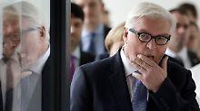 Einheitskandidat Steinmeier: Der neue Bundespräsident hat einen Makel
