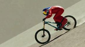 Kaum zu glauben, aber wahr: Stöckl rast auf Mountainbike mit 167 km/h zu neuem Weltrekord